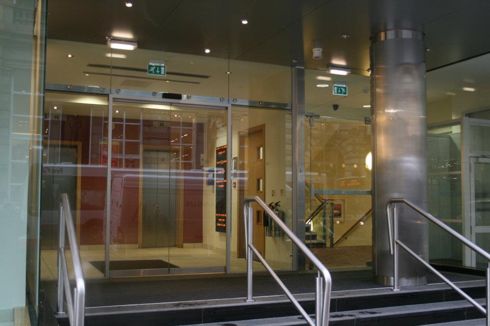 Shop Fitting Hurry Bros Glassworks Glasgow